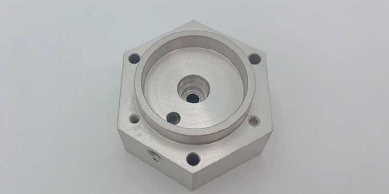 High precision cnc machining connector for air valve