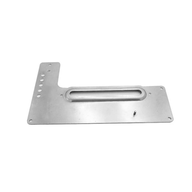 Customized aluminum stamping bracket for distribution box