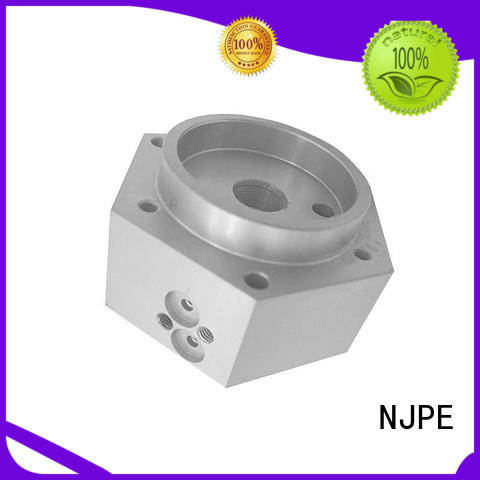 machine precision machining services simple operation for air valve NJPE