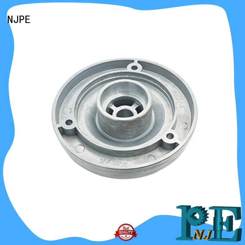 NJPE steel fast cnc machining shop now for industrial automation