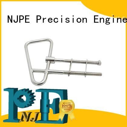 Custom stainless steel fabrication solid rod bending grip