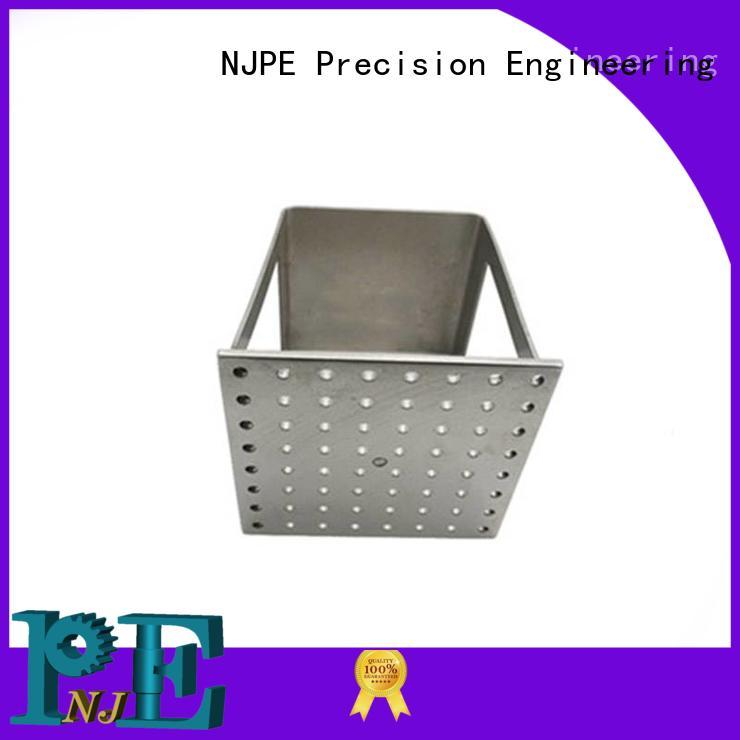 NJPE aluminum different types of fabrication company for equipments