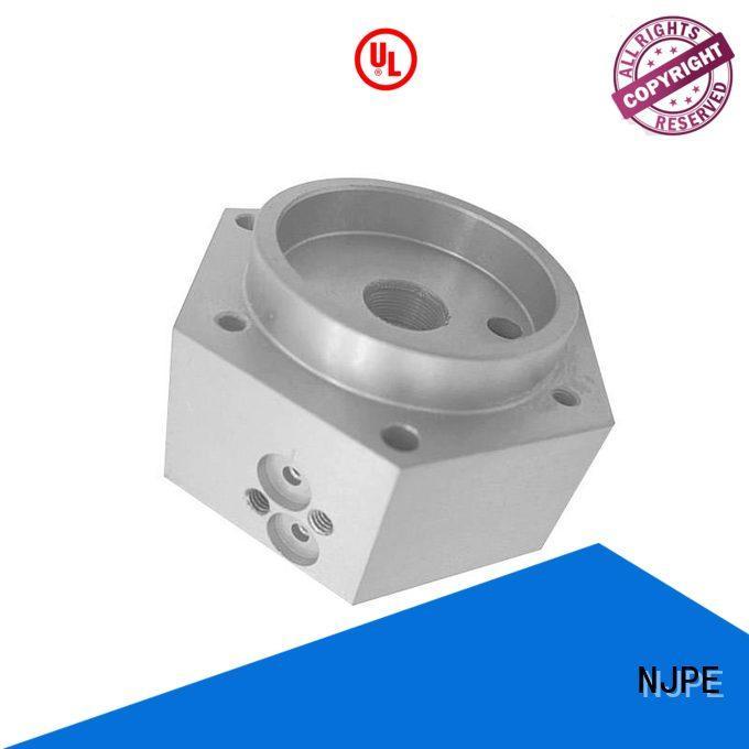 NJPE professional computer numerical control manufacturer for air valve