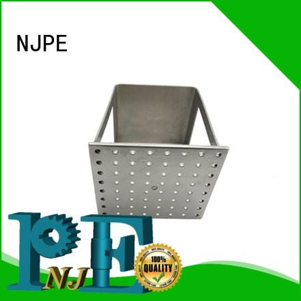 NJPE spoon custom sheet metal grab now for air valve