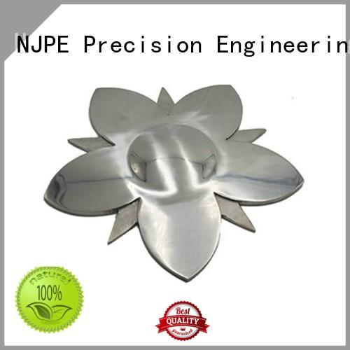NJPE cnc custom metal milling suppliers for industrial automation