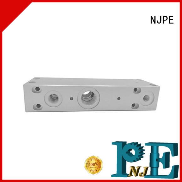 NJPE powerful precision machining marketing for air valve