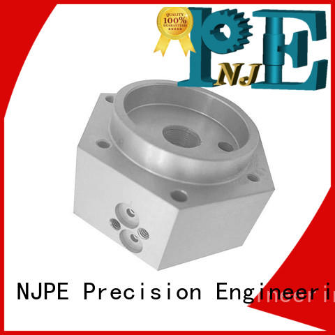 stainless cnc machining services air for equipements NJPE