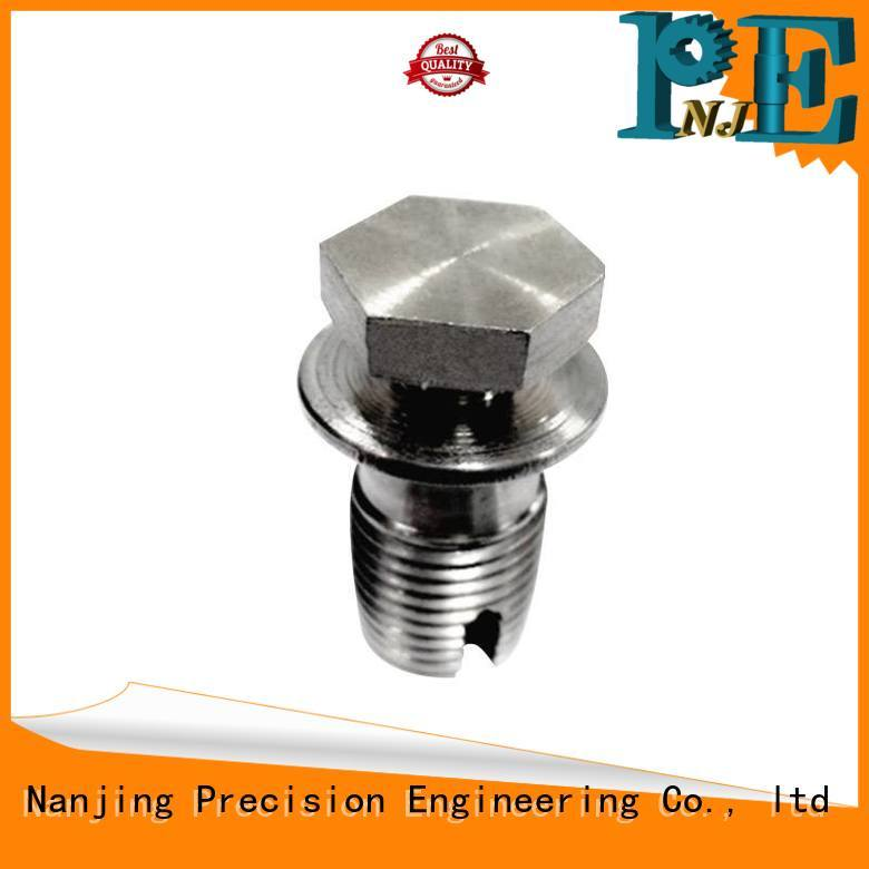 NJPE precision forging stainless steel manufacturer for equipements