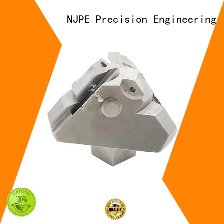 NJPE perfect cnc machining quote in china for industrial automation