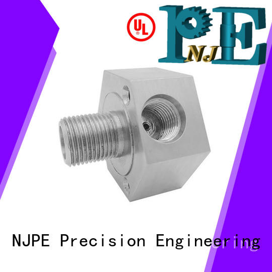 Custom machining hexagonal turning machined components