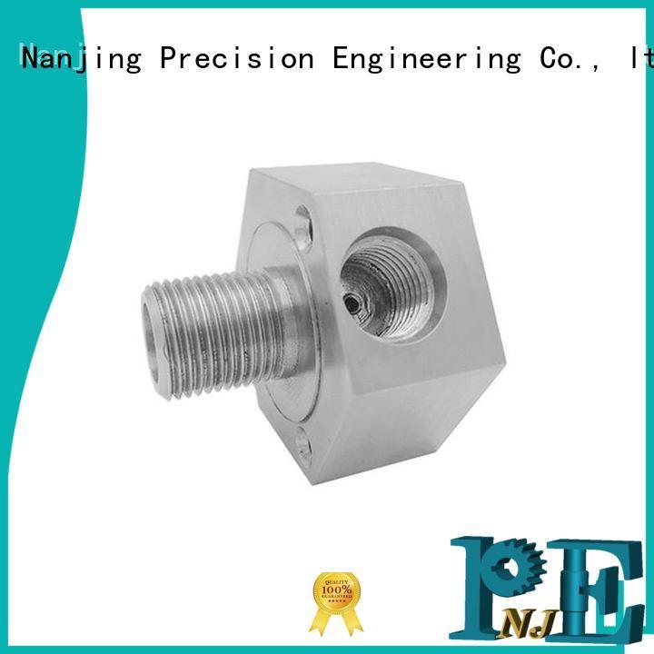 NJPE steel custom cnc machining energy saving for industrial automation
