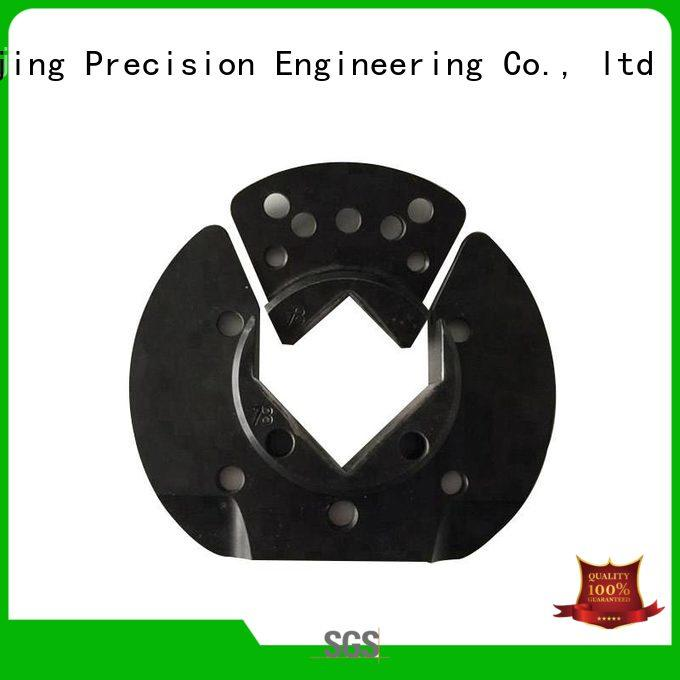 CNC machining steel clamp precision mechanical assembly