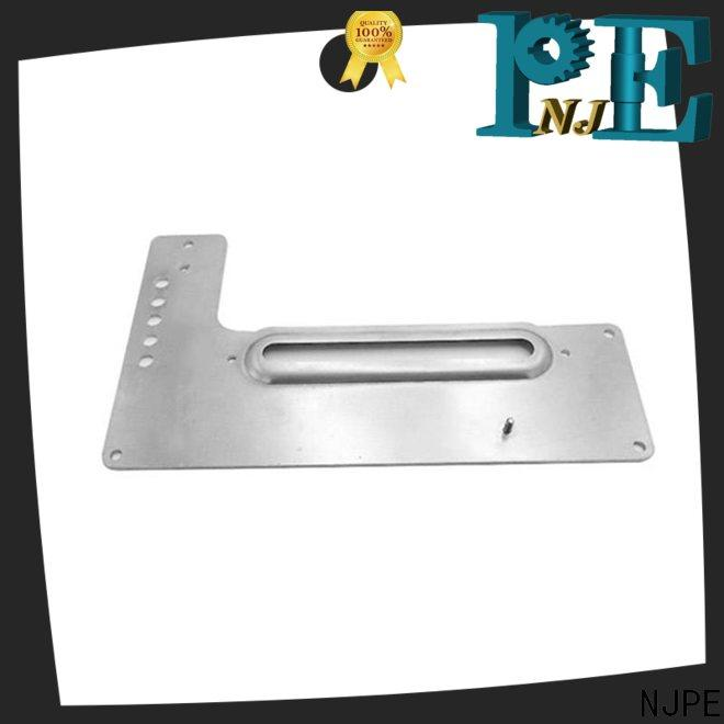NJPE fashion design short run metal stamping simple operation for equipments