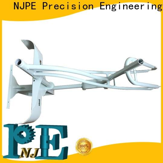 NJPE cutting steel fabricators uk in china for air valve