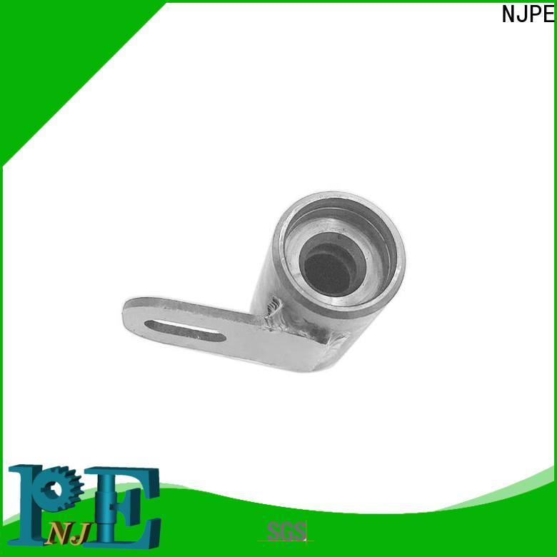 NJPE adjusted cnc machining materials overseas market for industrial automation