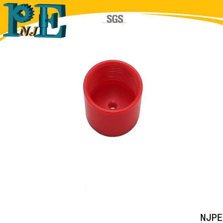 NJPE hexagonal cnc mechanic company for air valve