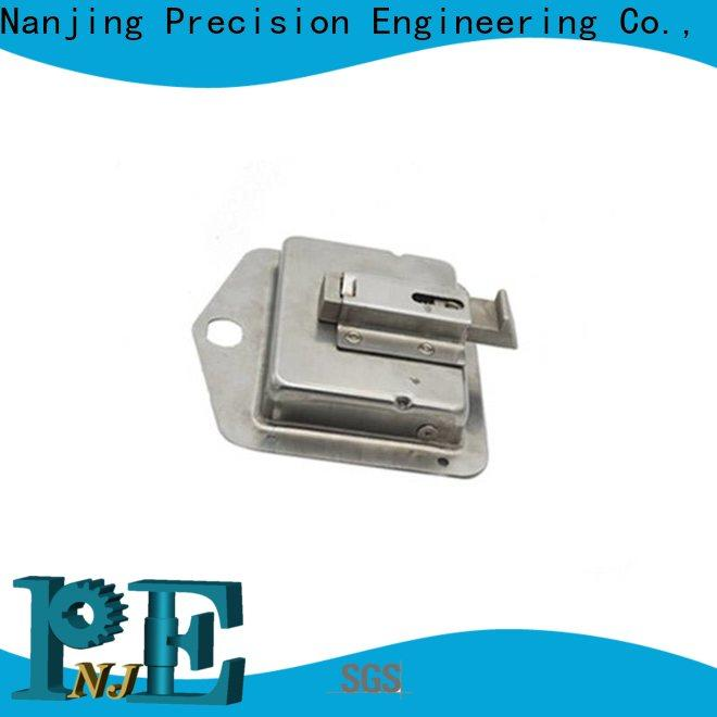 NJPE in different shapes fitting assembly factory for equipments