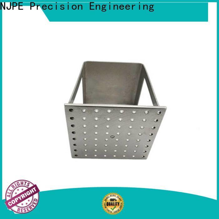 NJPE Top sheet metal fabrication work manufacturer for equipments