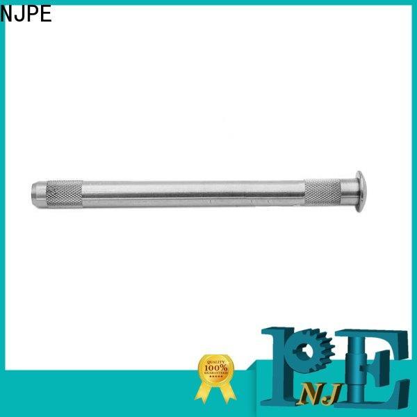 NJPE screw machining cast aluminum factory price for equipments