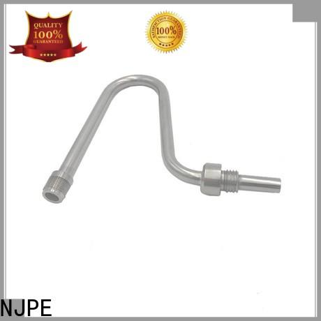 NJPE Custom mild steel tube bends manufacturers for air valve