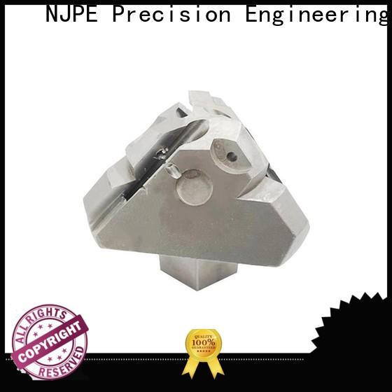 NJPE brass cheap cnc machining service from china for industrial automation