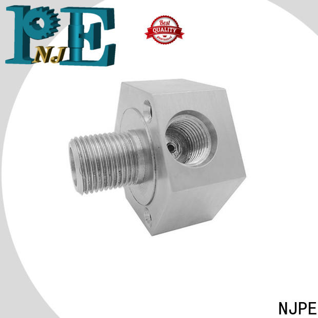 NJPE machining metal machining services suppliers for equipments