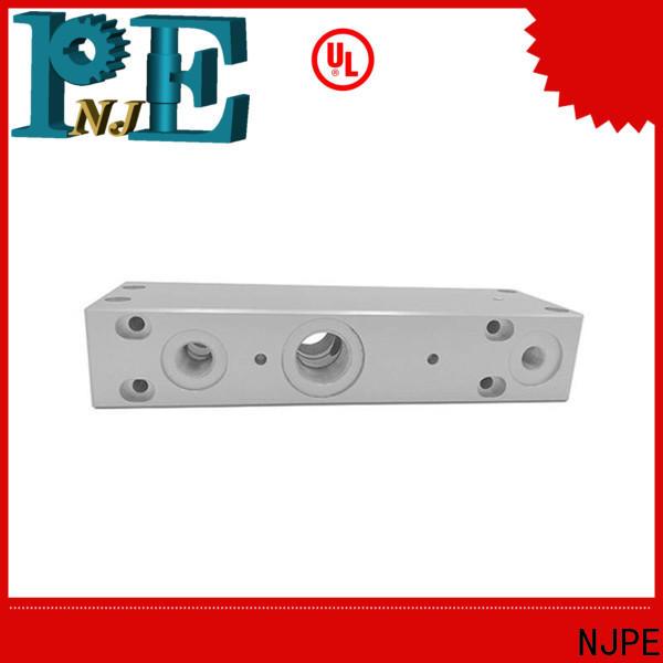 NJPE connector precision cnc machining services company for automobile