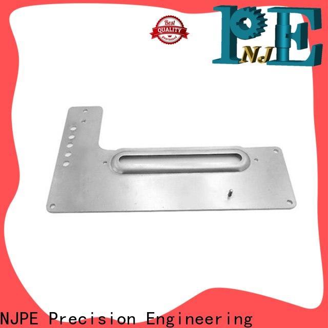 NJPE safe cnc machining titanium manufacturer for equipments