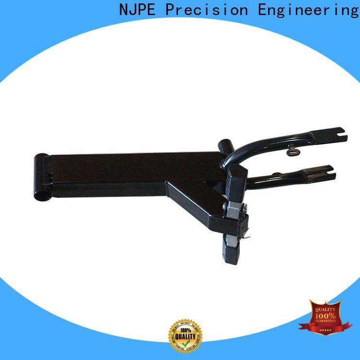 NJPE solid metal sheet parts overseas market for equipments