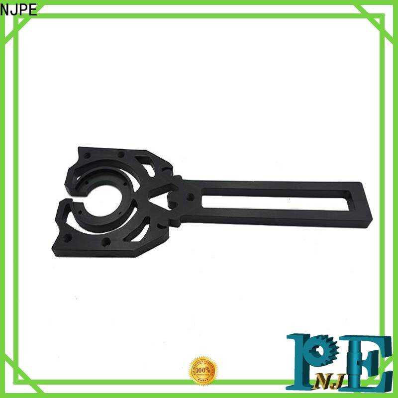 NJPE keyway cnc machining process for sale for industrial automation