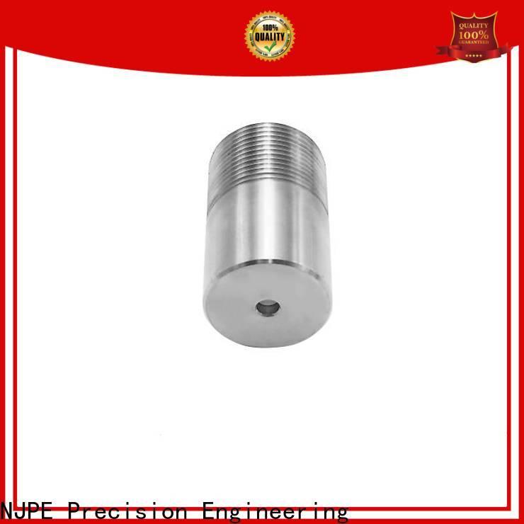 NJPE connector aluminium milling service manufacturers for air valve