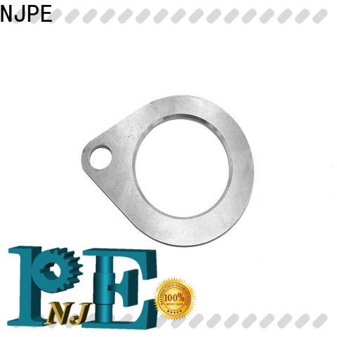 NJPE parts short run metal stamping manufacturer for equipments