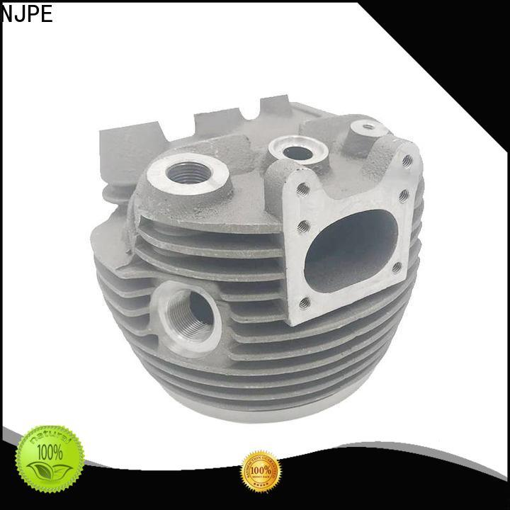 NJPE Latest cnc parts factory for equipments