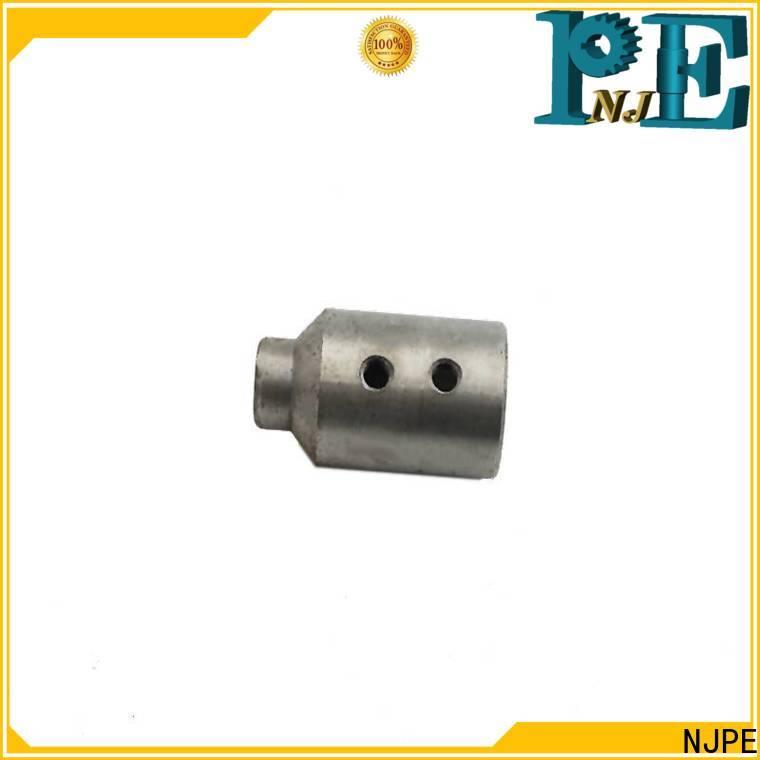 NJPE Latest machining titanium for business for air valve