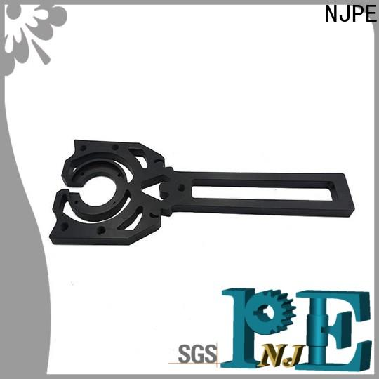 NJPE turned custom cnc simple operation for equipments