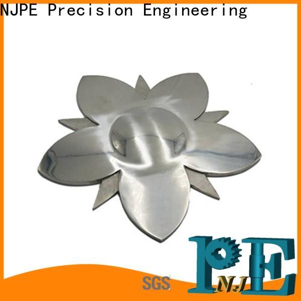 NJPE precision quick cnc parts suppliers for automobile