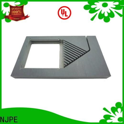 NJPE components stainless steel machining overseas market for air valve