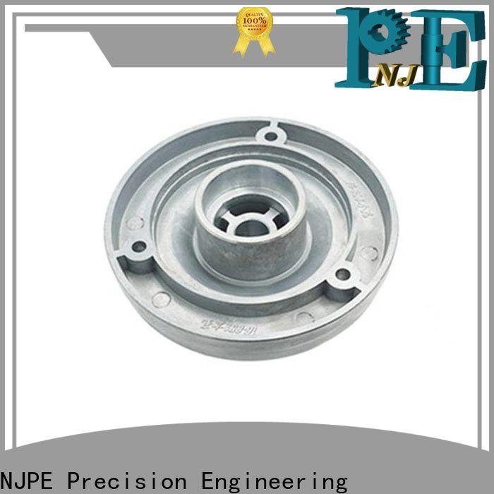 NJPE ware cnc parts online shop marketing for equipments