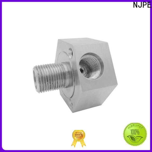 NJPE parts cnc fabrication manufacturers for air valve