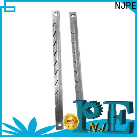 NJPE turned ideal cnc machining simple operation for industrial automation