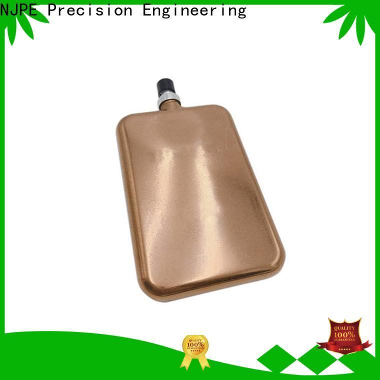 NJPE aluminum combined metal fabrication manufacturers for air valve