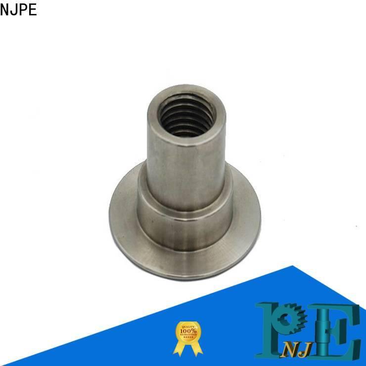 NJPE shaft advance cnc machining company for air valve