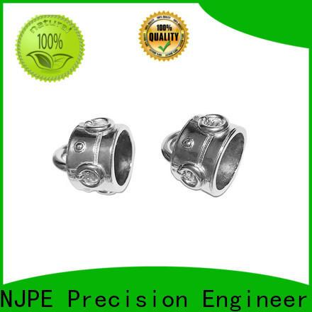 NJPE steel aluminum cnc service suppliers for equipments