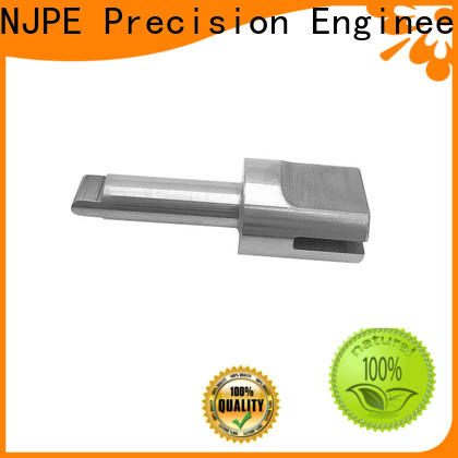 NJPE aluminum precision cnc machining overseas market for automobile