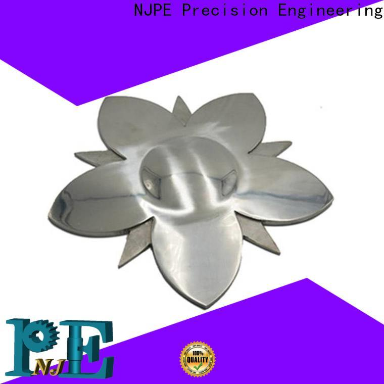 NJPE die high speed machining marketing for industrial automation
