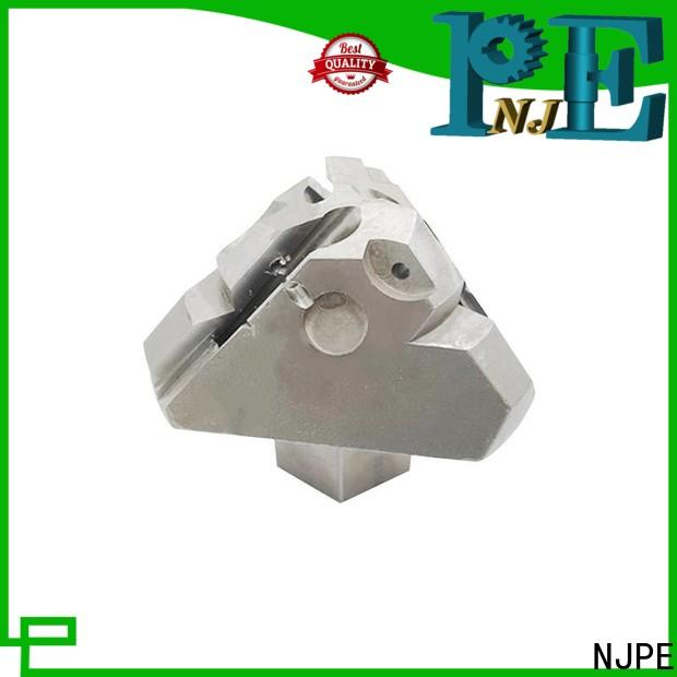NJPE milling acrylic cnc service from china for automobile