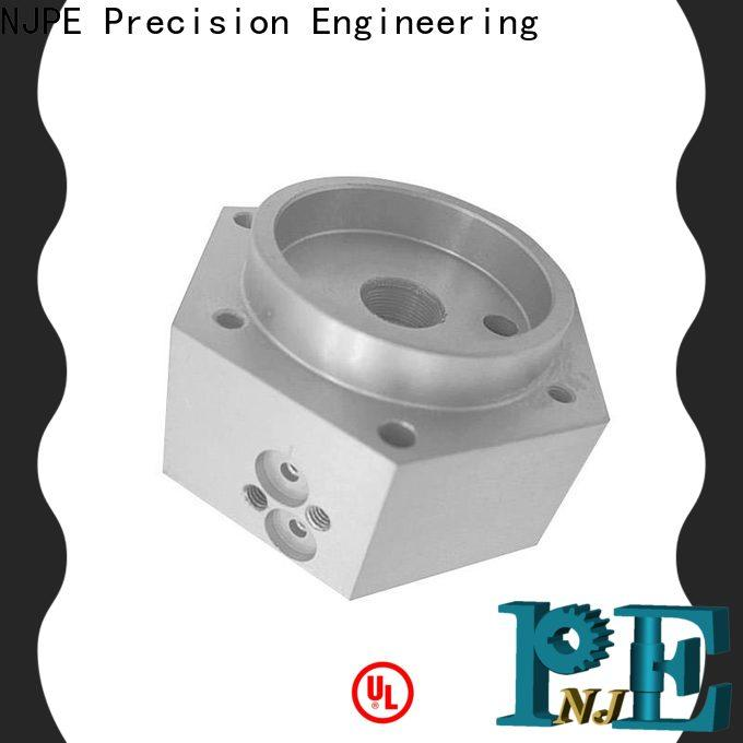 NJPE High-quality precision turned parts factory for industrial automation