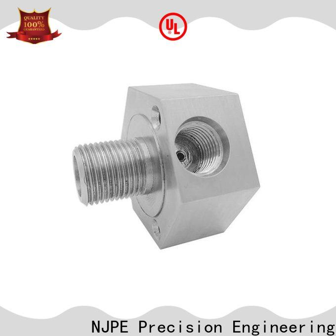 NJPE detailed precision cnc milling suppliers for equipments