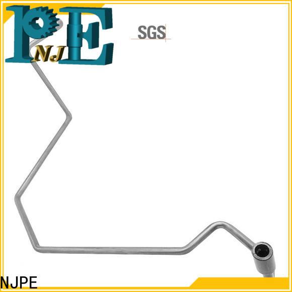 NJPE precision tube bending company for automobile