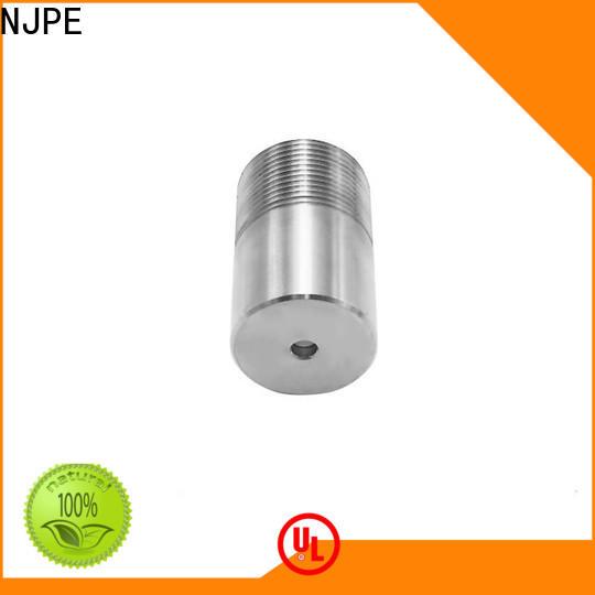 NJPE stainless hobby cnc mill supply for air valve